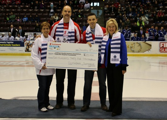 Scotiabank Skates 2015 Cheque Presentation
