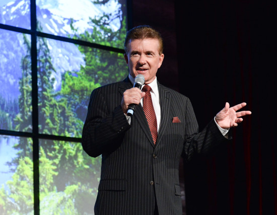 Alan Thicke led the crowd in laughs as this year's emcee at Laugh Out Loud on February 28. Photo credit: George Pimentel.