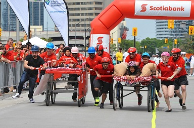 2015 Bed Race 1