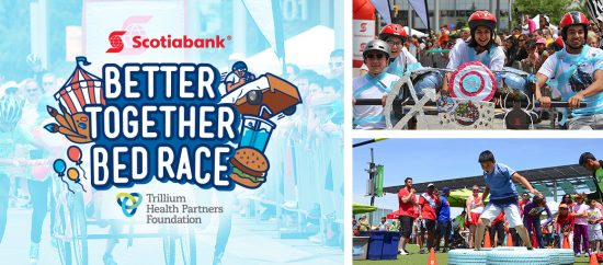Scotiabank Better Together Bed Race