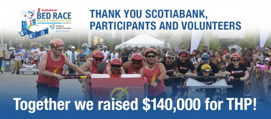 Scotiabank Bed Race raises $140,000 for Trillium Health Partners