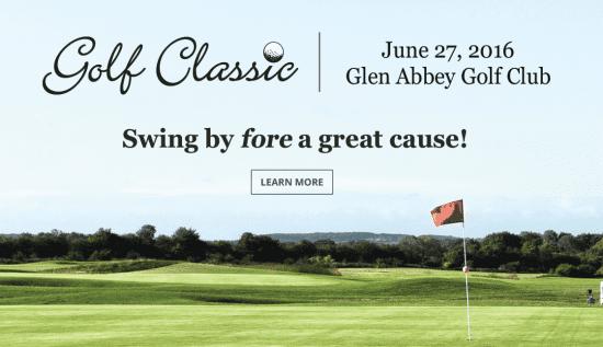 Golf Classic at Glen Abbey Golf Club June 27, 2016