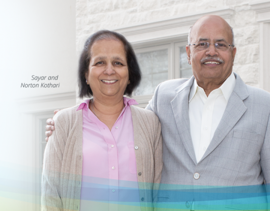 Thank you Kothari Family for $1 million for innovations at Trillium Health Partners