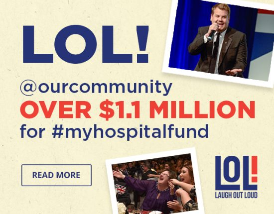 Over $1.1 Million Raised at Laugh Out Loud 2017 for THP's My Hospital Fund