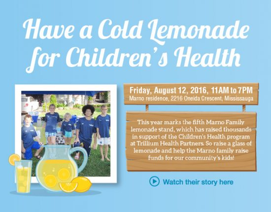 Marno Family Lemonade Stand, August 12, 2016