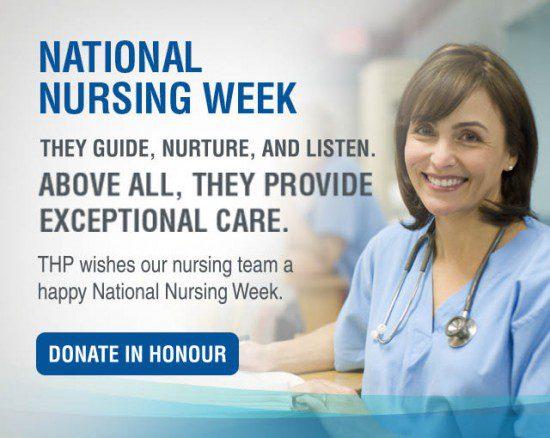 Nursing Week 2016 mobile banner