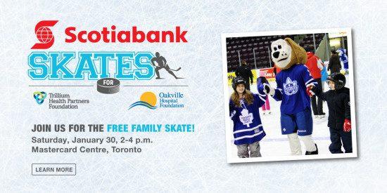 Scotiabank Skates Family Event, January 29-31, 2016
