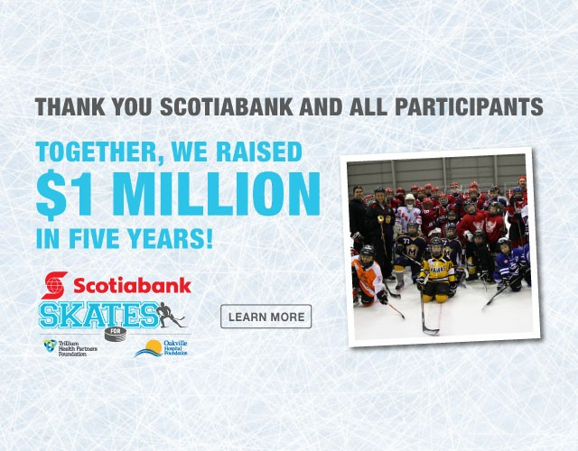 Scotiabank Skates reaches $1 million goal for local health care