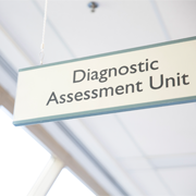 Diagnostic Assessment Unit sign