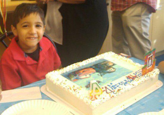 Davin's Birthday Celebration Giving
