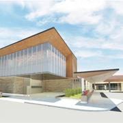 Credit Valley Hospital Emergency Department rendering