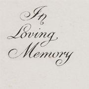 Donate in loving memory