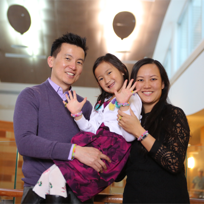 Sydney Tai and family