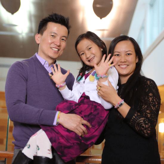 Sydney Tai and family
