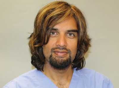 Dr. Ike Ahmed, Head of the Division of Ophthalmology