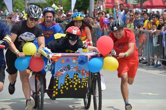 Scotiabank Bed Race 2016