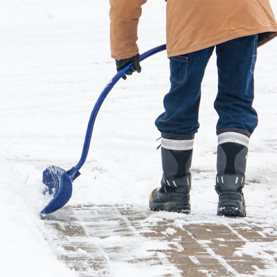 A shovel's weight, length, and blade size are all important considerations when picking a shovel.