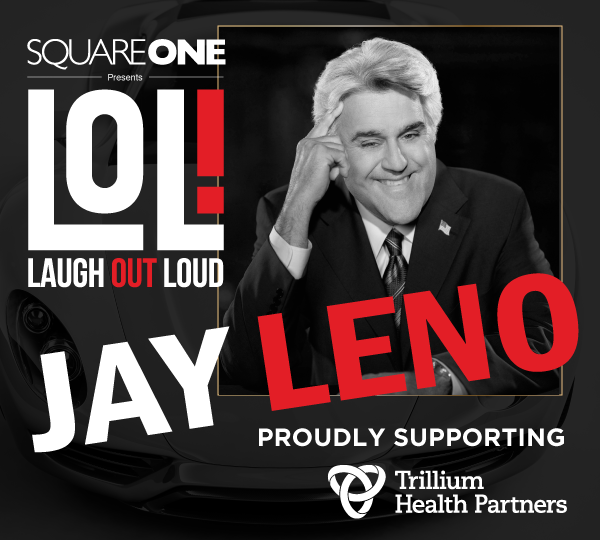 Laugh Out Loud 2018 with headliner Jay Leno
