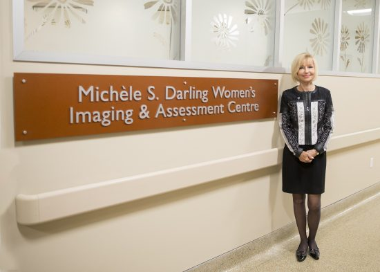 Michèle S. Darling Women's Imaging and Assessment Centre at our Credit Valley Hospital site