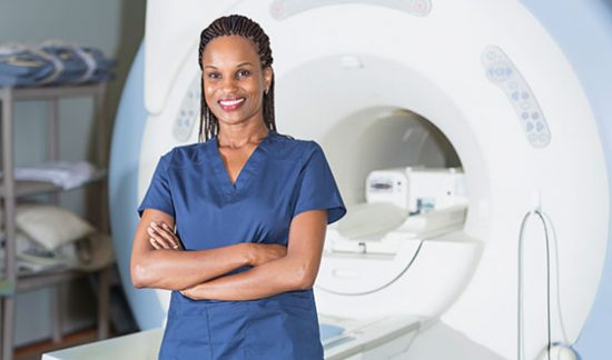 MRI with Caretaker