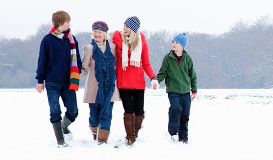 Falls Prevention - Winter Family