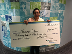 Better Together 50/50 Lottery Winner Tanusri Ghosh