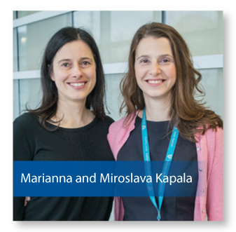 Marianna and Miroslave Kapala