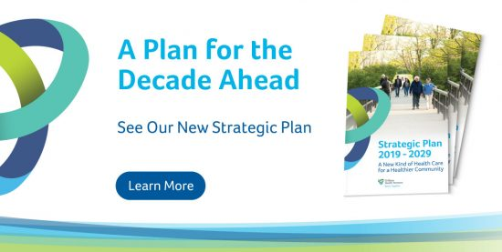 Read our new strategic plan!