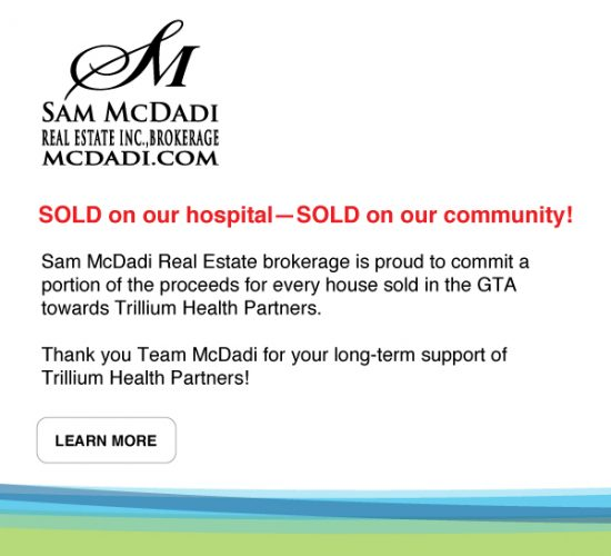 Sold on our hospital - sold on our community