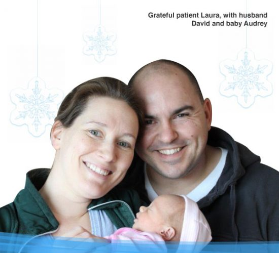 You can make a gift this holiday season to help families like mine. Give Now.