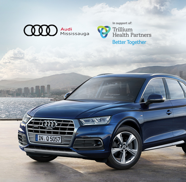 Audi Mississauga makes a donation for every car sold.
