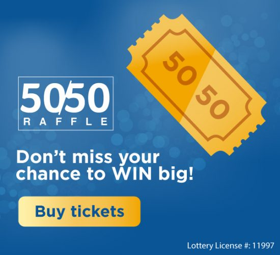 Don't miss your chance to win big! The Trillium Health Partners Foundation 50/50 raffle is back. Buy your tickets today.