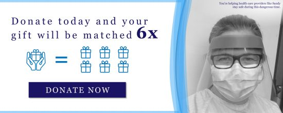 Donate to Trillium Health Partners Foundation today and your gift will be matched 6 Times!