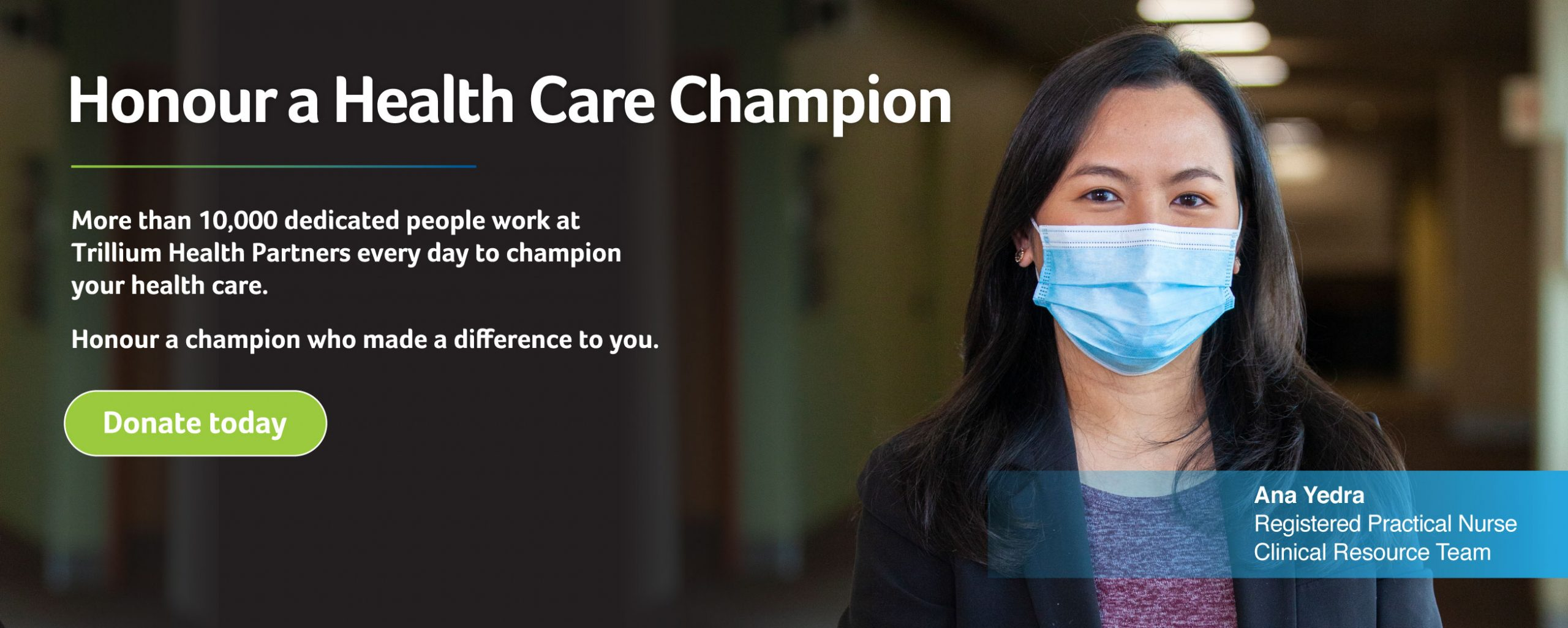 Hounor a Health Care Champion